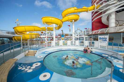 Aqualab op Disney Magic