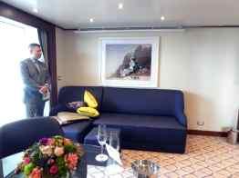 Penthouse Suite - zitgedeelte