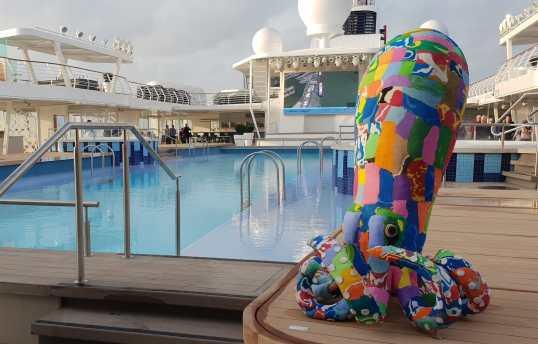 Mein Schiff 2 octopus