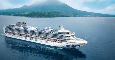 Cruisetours Diamond Princess in Azië