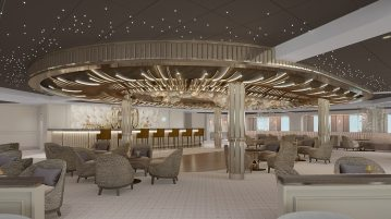 Seven Seas Splendor Observation Lounge