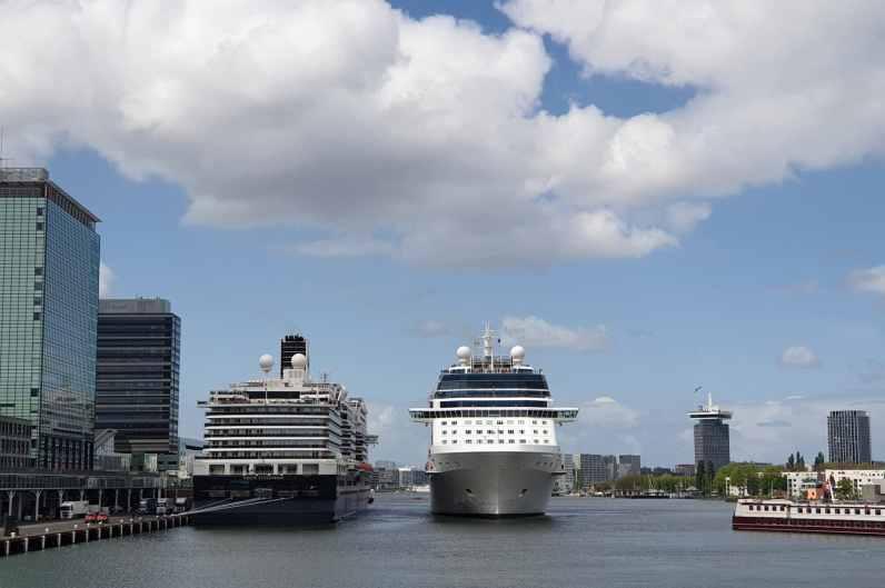 cruiseschip aankomsten