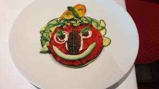 Food Art bord