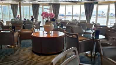 Panorama Lounge op dek 8 (achter)