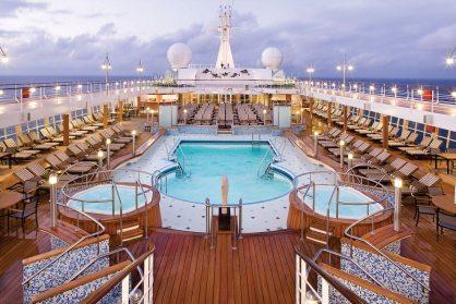 Pool Deck - Deck 11 MidshipSeven Seas Voyager - Regent Seven Seas Cruises