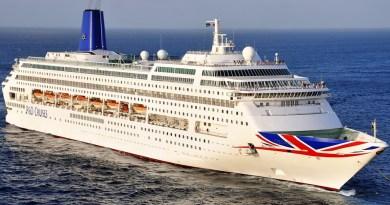 Oriana verlaat vloot P&O Cruises
