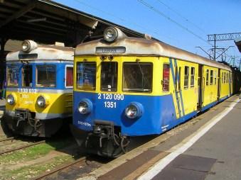 Gdynia en Gdansk treinen