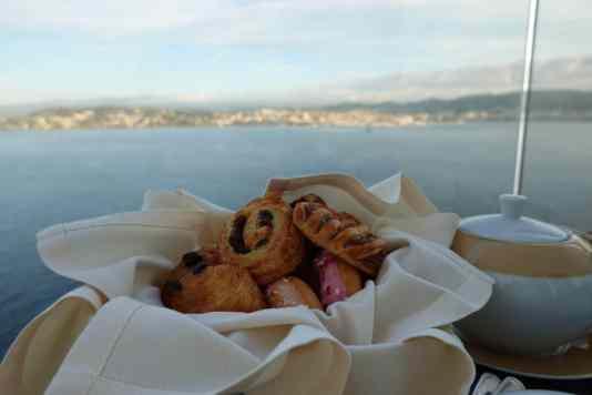 MSC Seaview ontbijt roomservice