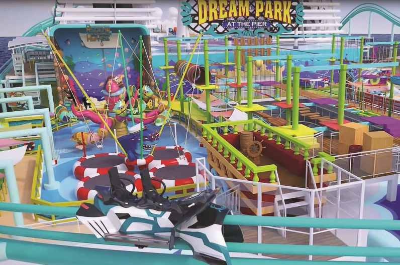 Dream Park at the Pier will feature the world's longest roller coaster at sea - Global Dream
