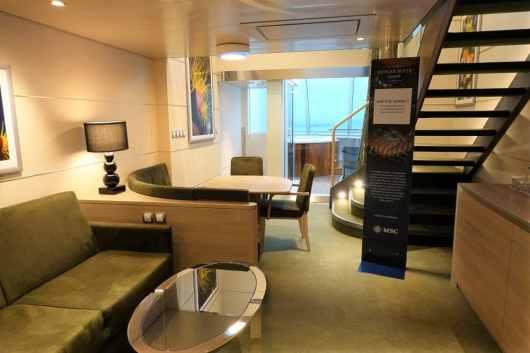 MSC Grandiosa Duplex Suite 02