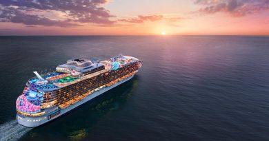Royal Caribbean onthult naam van 5e Oasis klasse schip