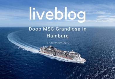 LIVEBLOG: Doop MSC Grandiosa in Hamburg