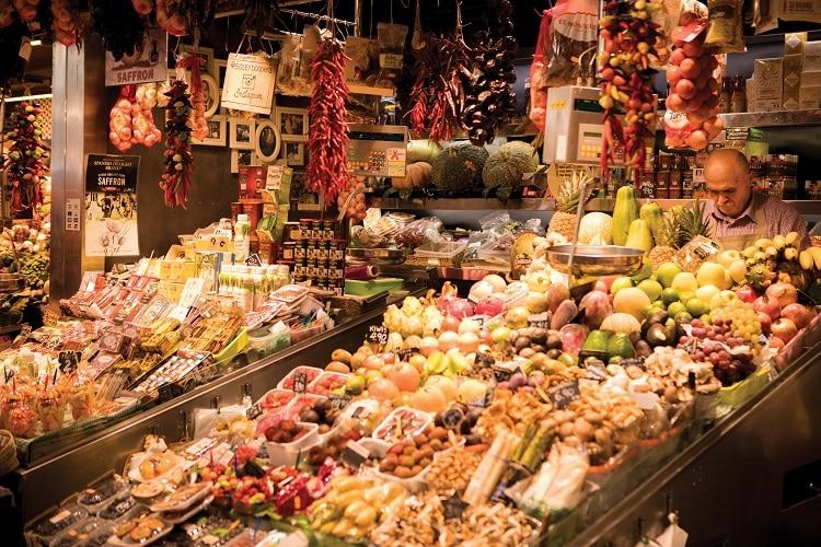 3. Barcelona Market