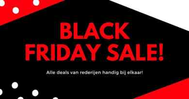 Black Friday Deals voor cruisevakanties