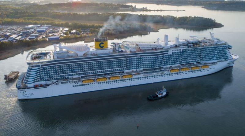 Costa Cruises verwelkomt 1e LNG schip Costa Smeralda