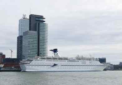 Zeven cruiseschepen Cruise & Maritime Voyages tegelijkertijd in Rotterdam in 2021