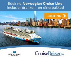 advertentie Cruisereizen NCL