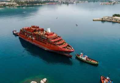 Expeditieschip Ultramarine te water gelaten in Split
