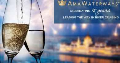 AmaWaterways viert 18e verjaardag met virtueel evenement