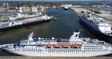 Astor, Magellan en Vasco da Gama in Tilbury