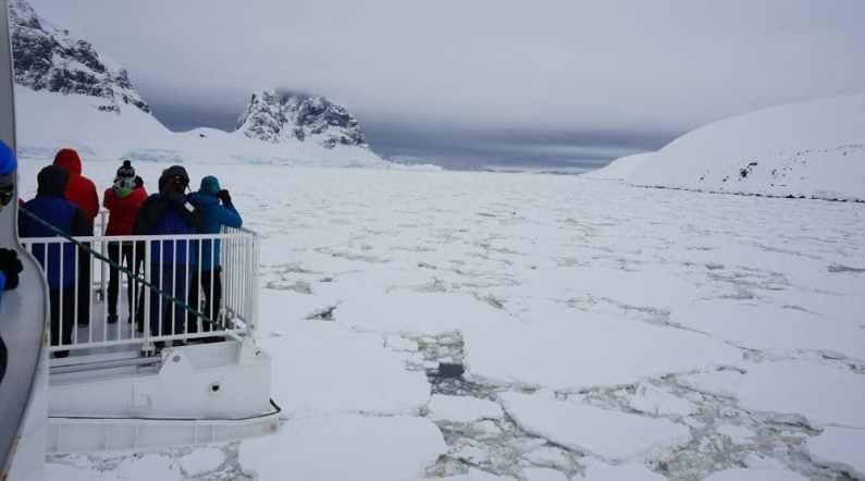 Greg Mortimer Antarctica
