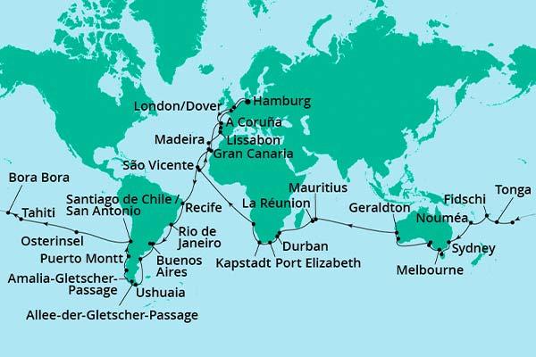 AIDAsol_Weltreise2021_Routenkarte_reduziert_600x400