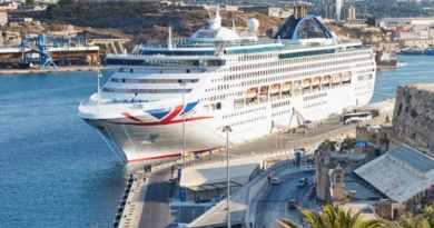 Cruiseschip Oceana verlaat de vloot van P&O Cruises