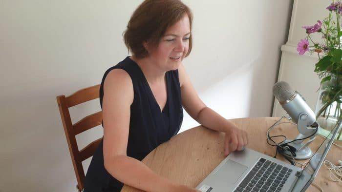 Miriam in gesprek met Kevin Bubolz