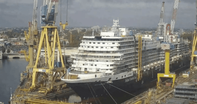 Holland America Line's nieuwe Rotterdam start vrijdag haar eerste proefvaart