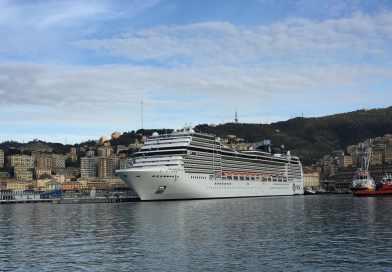 Herstart MSC Magnifica in de Middellandse Zee