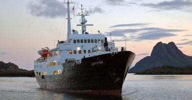 Hurtigruten's MS Lofoten wordt opleidingsschip