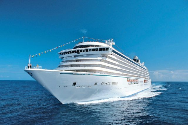 Crystal Cruises start in juli met cruises vanaf Nassau