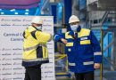 Eerste stuk staal gesneden voor nieuw schip Carnival