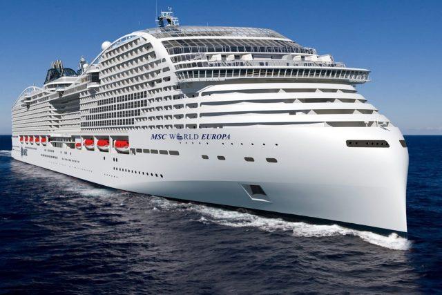 LNG schip MSC World Europa