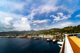 Royal Caribbean helpt bij evacuatie St.Vincent