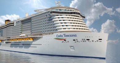 Costa Toscana klaar voor proefvaart