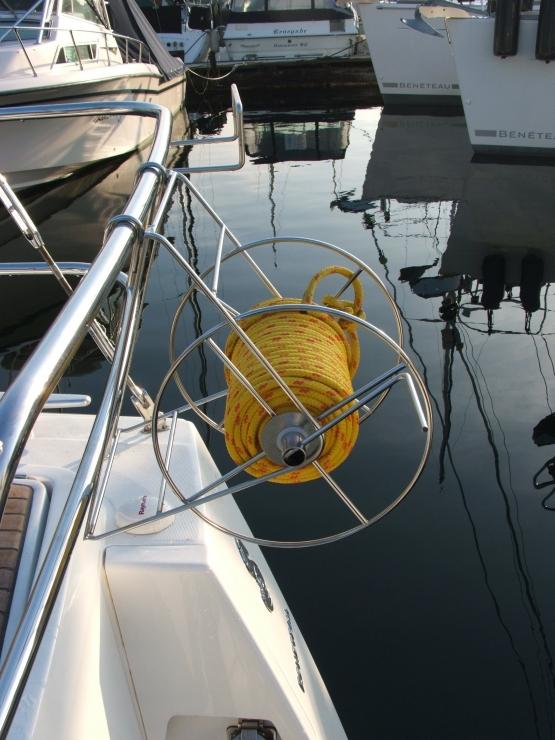 Shoreline Reel Easy Storage Of Your Shore Line When
