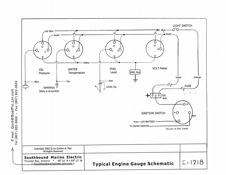 yamaha ox66 outboard gauges wiring diagram yamaha 150