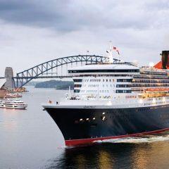 El emblemático Queen Mary 2 llegará a Barcelona el día 5 de mayo finalizando su vuelta al mundo