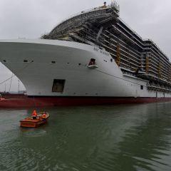 MSC Cruceros y Fincantieri celebran la prueba de flotación de MSC Seaside