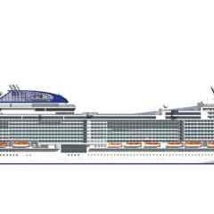 """Luz verde para la construcción de dos barcos de la clase """"Meraviglia-Plus"""" de MSC Cruceros"""