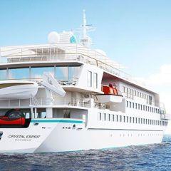 Crystal Cruises presenta un plan de expansión en sus viajes exclusivos
