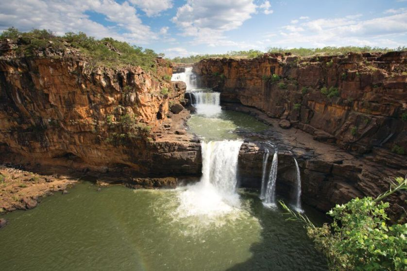 Mitchell Falls in The Kimberley, Western Australia