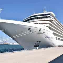 Silver Muse visita Tarragona Cruise Port en su viaje inaugural