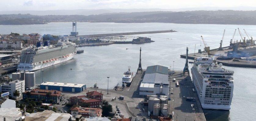 Tripe escala de cruceros en A Coruña