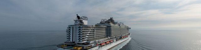 MSC Cruceros se concentra en la tecnología medioambiental mientras espera la entrada en servicio de su nuevo barco de última generación