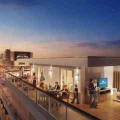 Las nuevas suites del Sky Princess tendrán los balcones privados más grandes de Princess Cruises