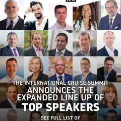 The International Cruise Summit announces the expanded line up of top speakers