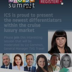 ICS is proud to present the newest differentiators within the cruise luxury market