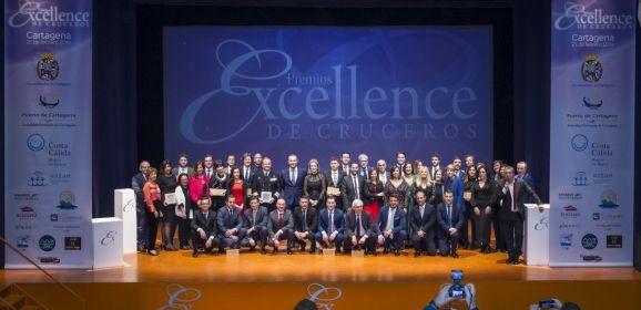 La gala de los Premios Excellence de Cruceros brilló nuevamente en Cartagena